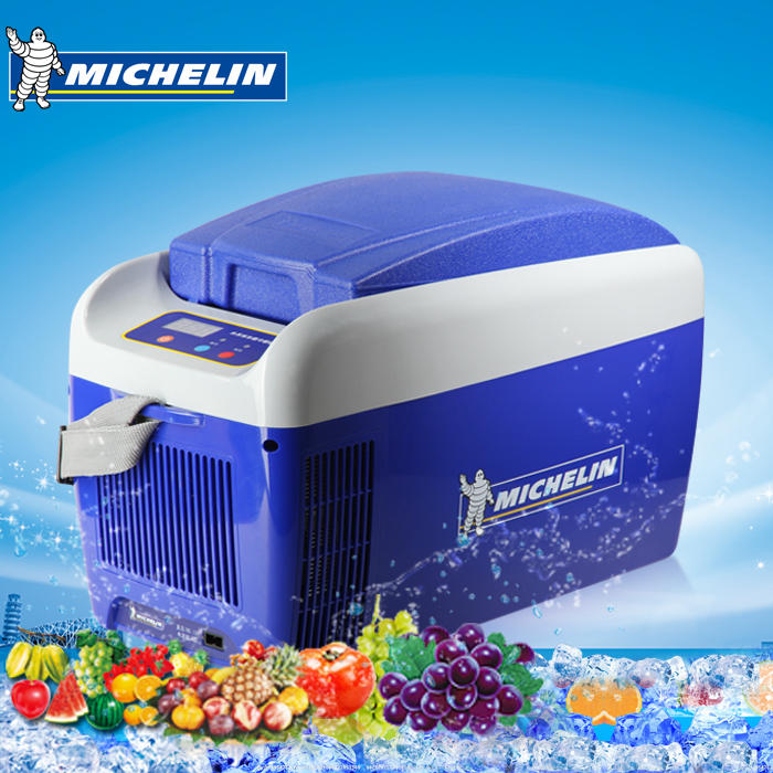 Michelin car portable car heating and cooling box car refrigerator car home dual mini refrigerator freezer incubator