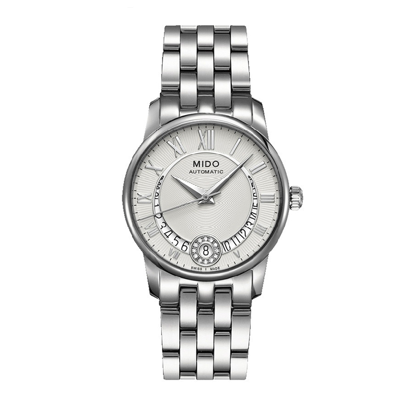 Mido mido baroncelli automatic mechanical swiss watches steel belt female form m007. 207.11.038.00