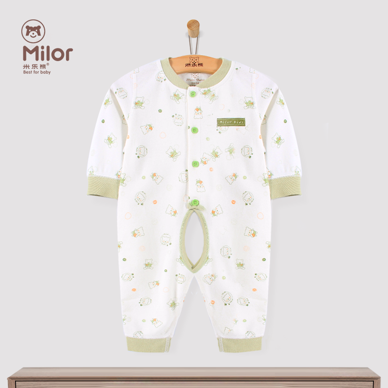 Miller bear baby clothes autumn winter clothes newborn baby cotton leotard romper climbing clothes boneless
