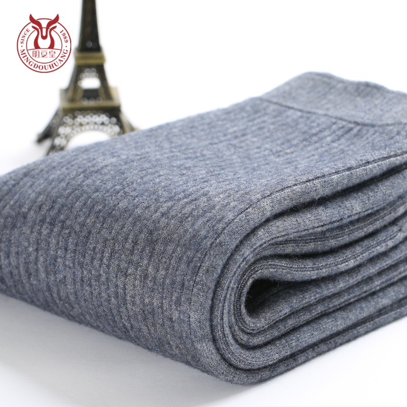 Ming wong beans boys fall and winter children warm thick cashmere pants wool pants wool pants big boy pants hit the inside wearing underwear