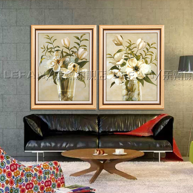 Minimalist living room sofa wall painting decorative painting modern european painting framed painting the entrance decorative painting mural paintings
