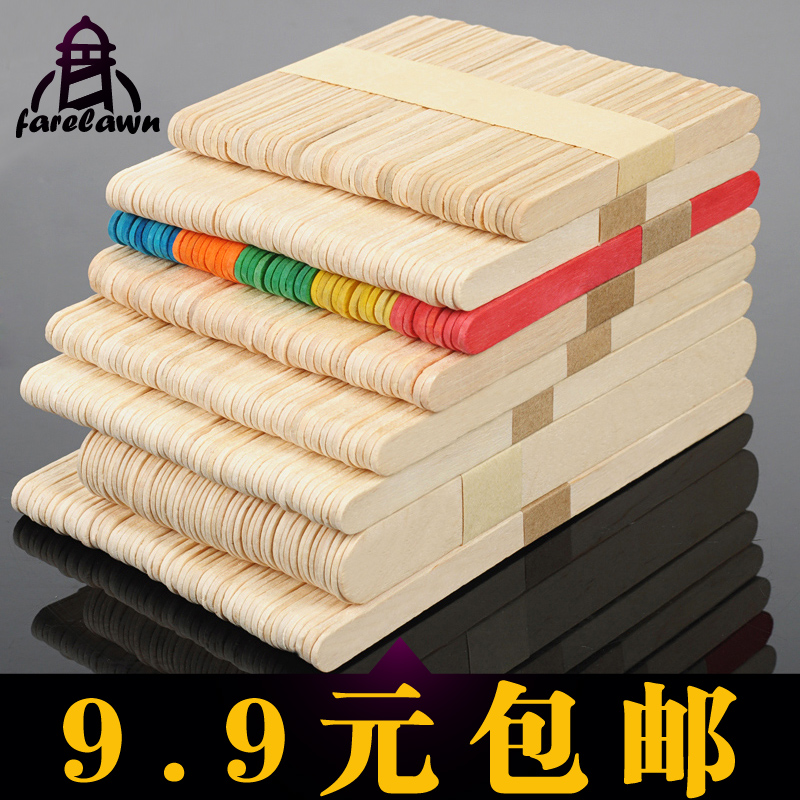 Get Quotations Model Material Popsicle Stick Ice Cream Sticks Diy Handmade Wooden