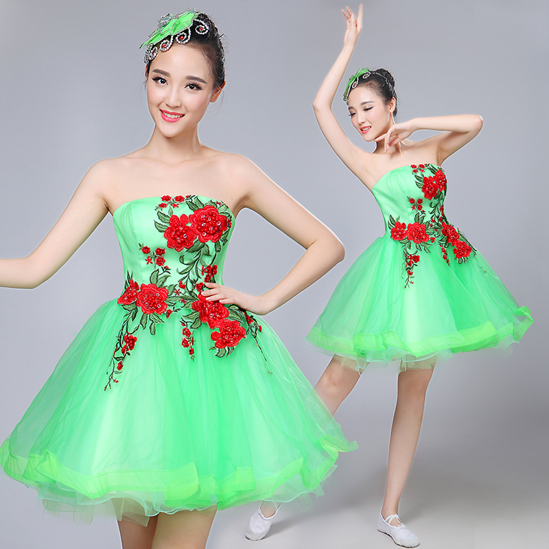 1686de65875ce Get Quotations · Modern dance costume costumes 2016 new ballet tutu skirt female  adult performance clothing choral service