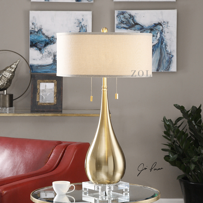 China bronze table lamp china bronze table lamp shopping guide at get quotations modern minimalist atmosphere of luxury bronze iron lamp living room bedroom hotel bedside lamp table lamp aloadofball Image collections