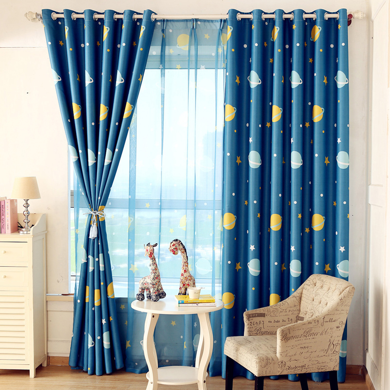Ordinaire Get Quotations · Moistening Woven Green Cartoon Childrenu0027s Bedroom Curtains  Shade Cloth Finished Custom Living Room Curtains Floating Simple