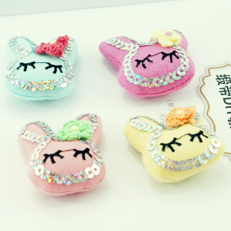 Momo new fabric handmade accessories buck korea headdress hairpin diy handmade hair accessories material parts
