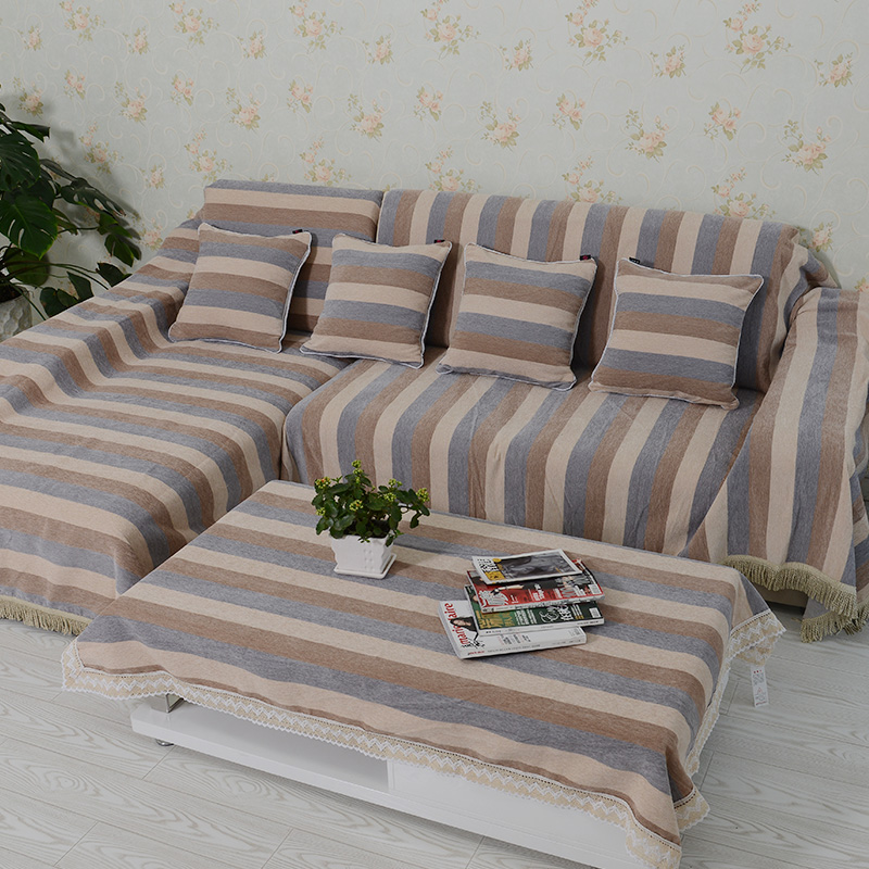 Get Quotations · Month And Family Think European Sofa Cover Sofa Cover The  Whole Package Slip Thicker Fabric Sofa