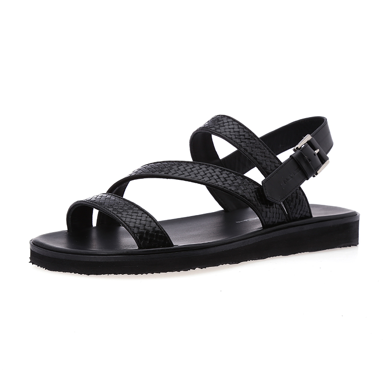 Moreschi/æ©éæ¯base authentic men's 2016 summer new leather sandals leather sandals