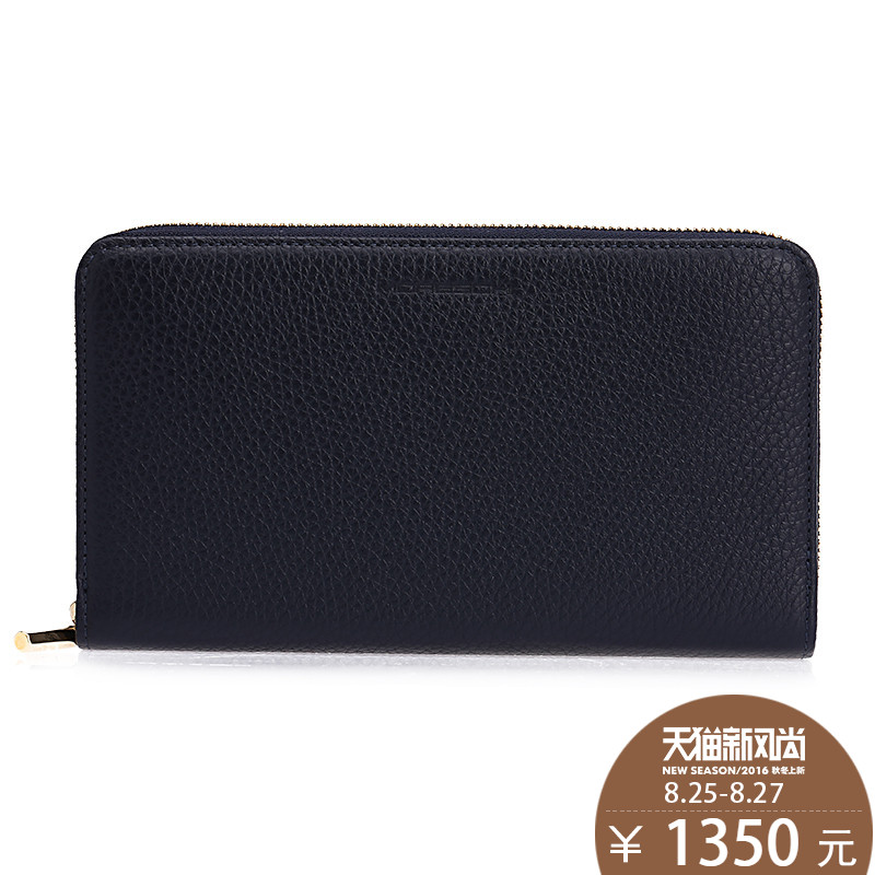 Moreschi摩里斯base/ms. genuine male long wallet cowhide leather long wallet clutch card package