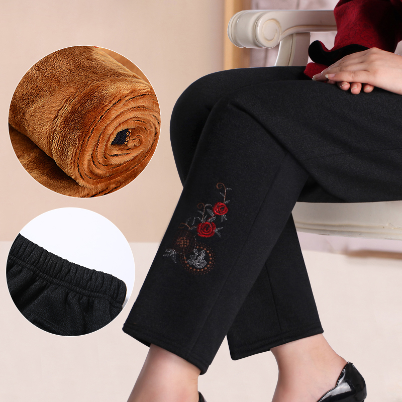 Mother's day mother dress summer middle-aged middle-aged women women 40-50-year-old fat granny pants long pants