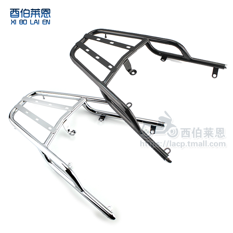 Motorcycle electric car news eagle xun xun eagle eagle rear shelf after tailstock piece modification to install rear shelf accessories