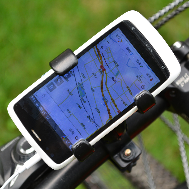 Mountain bike cell phone holder cell phone holder bicycle phone holder bicycle conductivity meter gps navigation