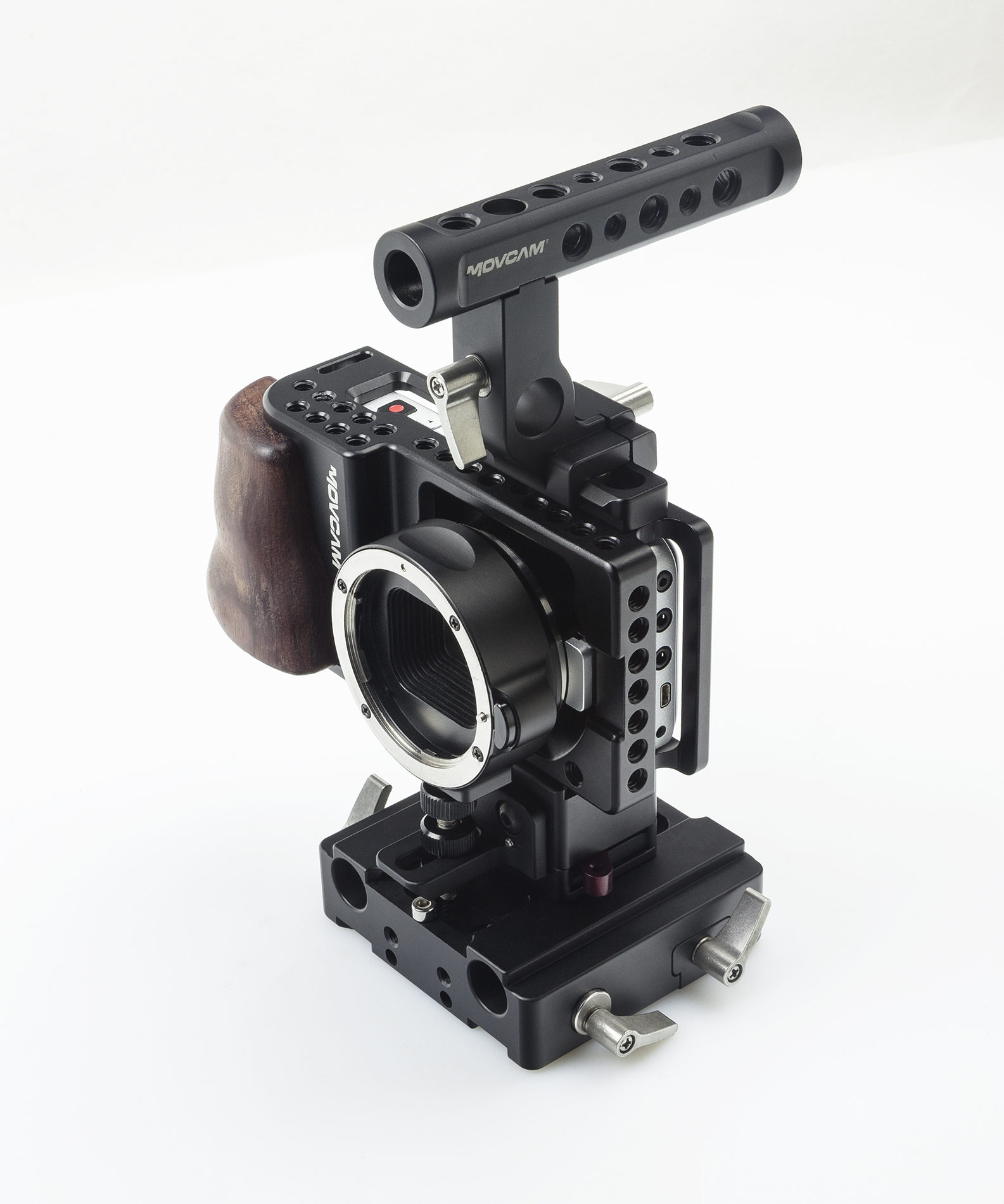 Movcam mo/mo fu kang bmpcc kit/cage rabbit cage fuselage surrounded/put on the handle/hdmi protection