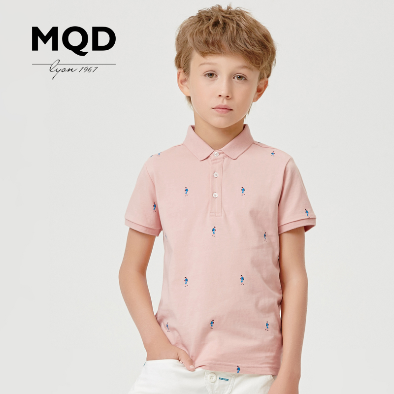 Mqd kids boys summer casual short sleeve polo shirt 2016 summer new children's short sleeve t-shirt korean tidal