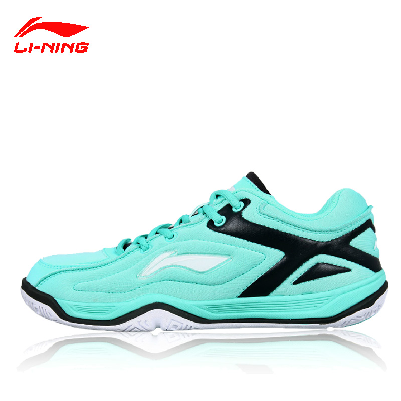 Ms. female models lining li ning badminton shoes badminton training shoes slip resistant breathable sneakers