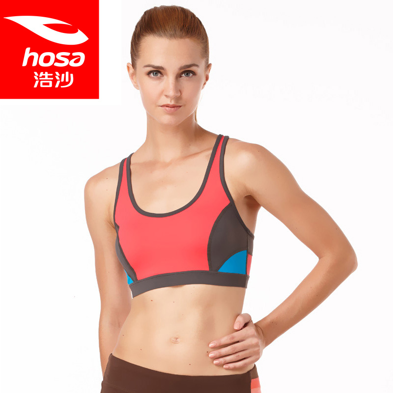2c2e0258bfdf Get Quotations · Ms. hosa authentic sports underwear gather large size bra  gather thin section no rims bra