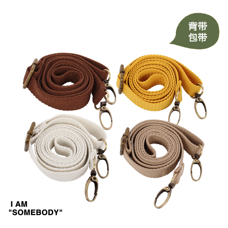 Ms. original solid color halter long rope lanyard strap satchel bag messenger with handle bag with accessories section adjustable