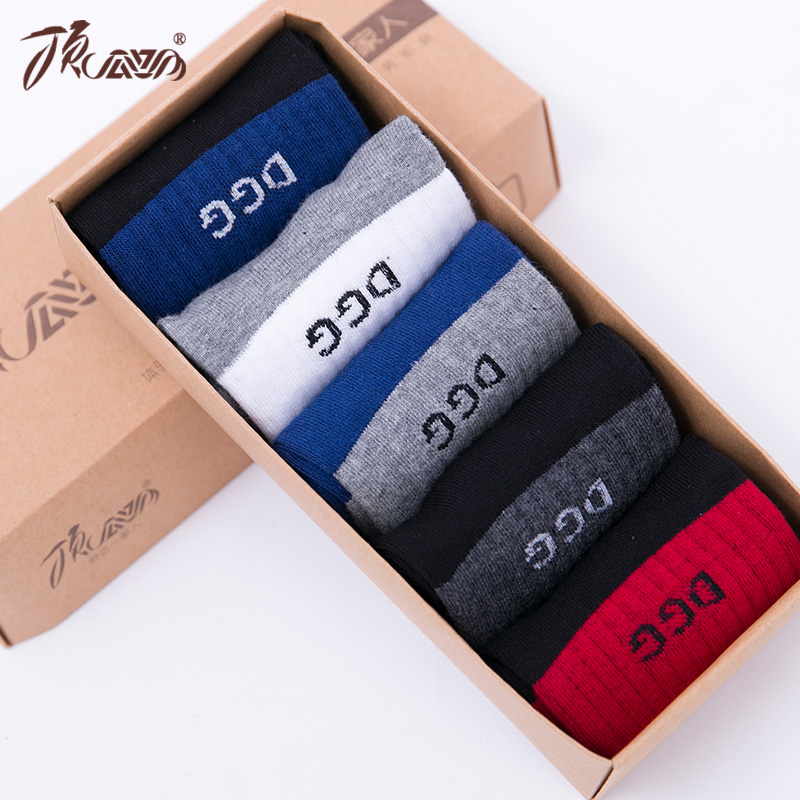 Ms. top guagua tkk summer men's socks warm socks men in tube socks socks male socks cotton socks spring and summer seasons