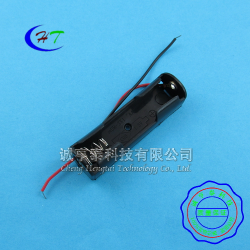 [Mt] section 18650 single battery box battery holder 1/charging cradle with a positive and negative wire 5 100个