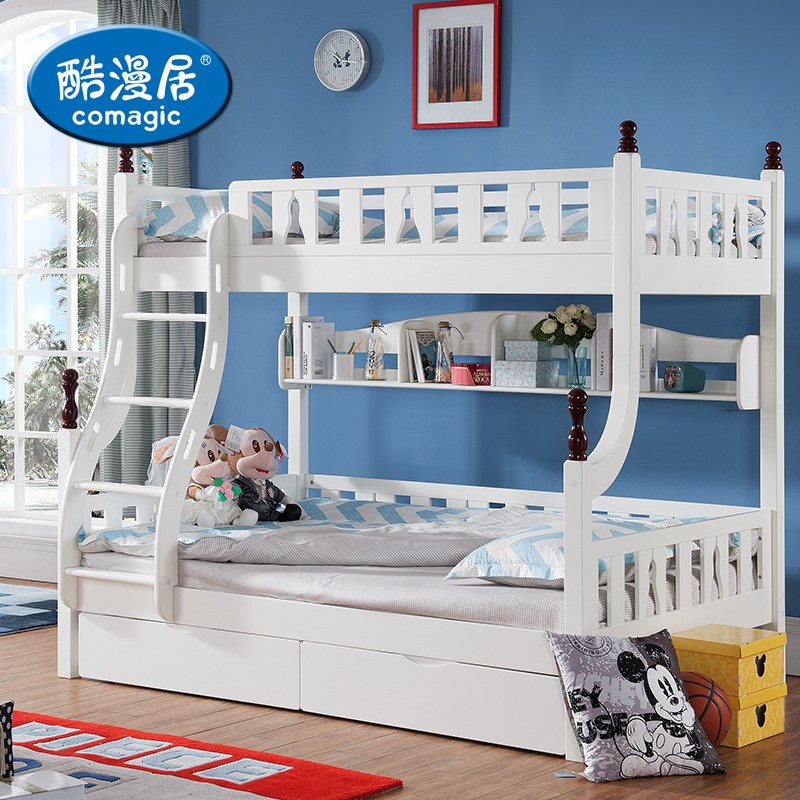 Multifunctional acg children's furniture wood bed bunk bed bunk bed bunk bed wood bed children bed