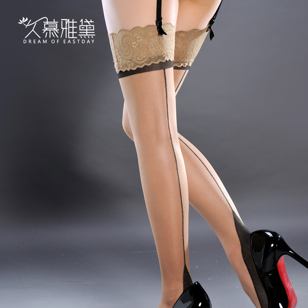 Muya dai long sexy lace stockings female ultra thin stockings sexy stockings knee stockings stockings sexy female