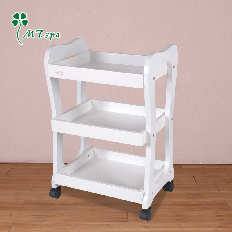 Mztspa wood beauty beauty trolley tool cart beauty salon salon trolley carts small carts three upscale DD-66