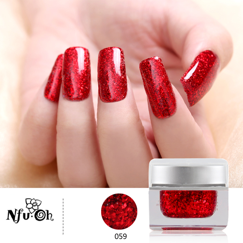 Nail phototherapy plastic barbie large sequins 20 ml eve wyatt removable plastic color light therapy to extend the glue nail polish