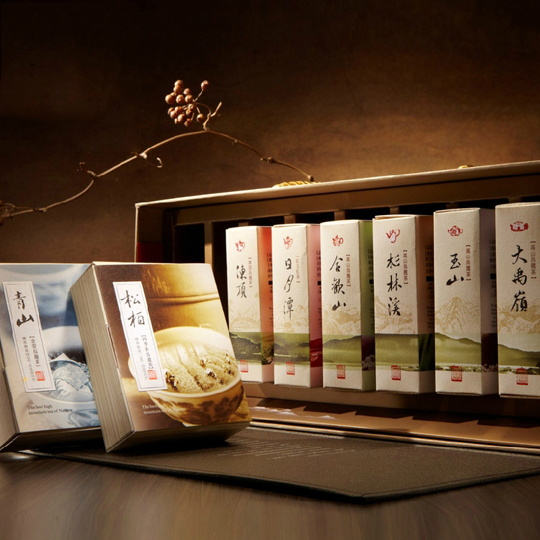 Nantou county farmers' association of eight large boxes imported from taiwan nantou tea area tea high tea group 8 into