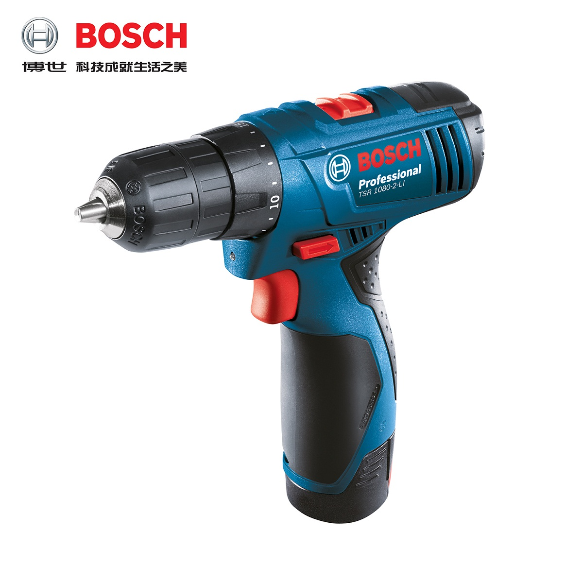 National free shipping bosch tsr1080-2-li rechargeable drill