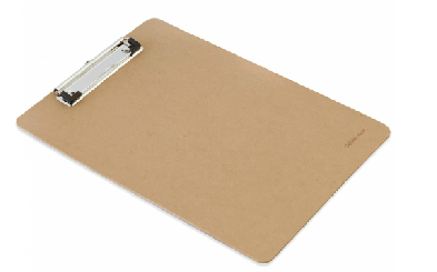 National shipping deli a4 clip board plywood wooden plate wooden writing board clip 9226