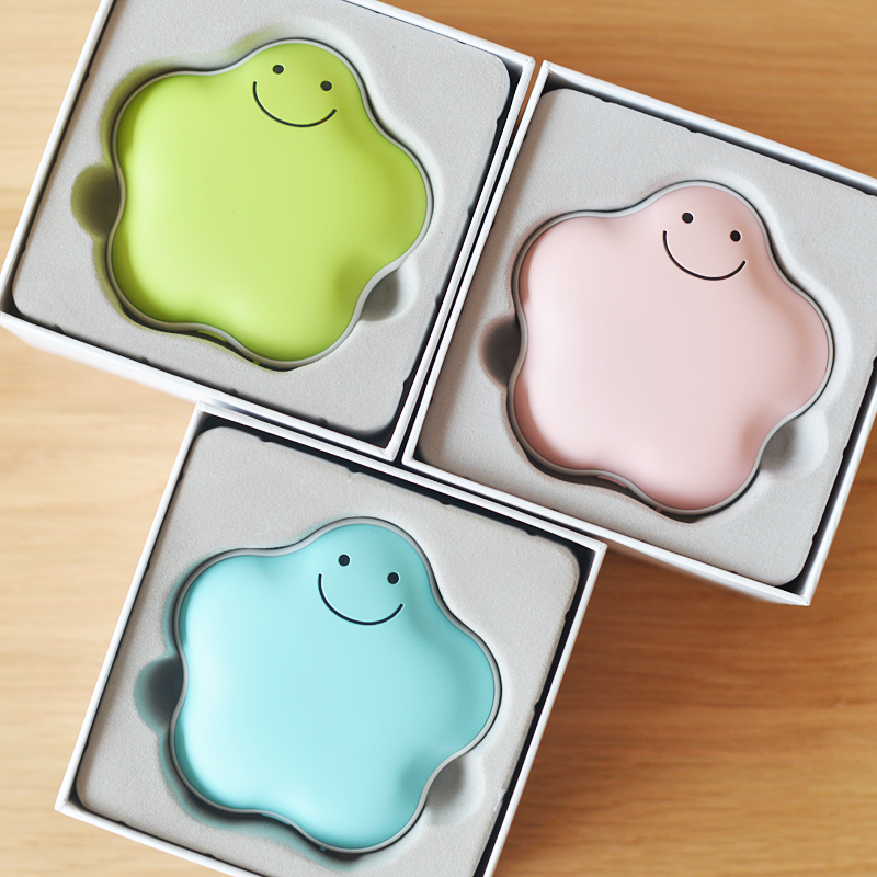 Natural lucky creative mini mobile power charging treasure usb charging hot water bottle explosion hand po new