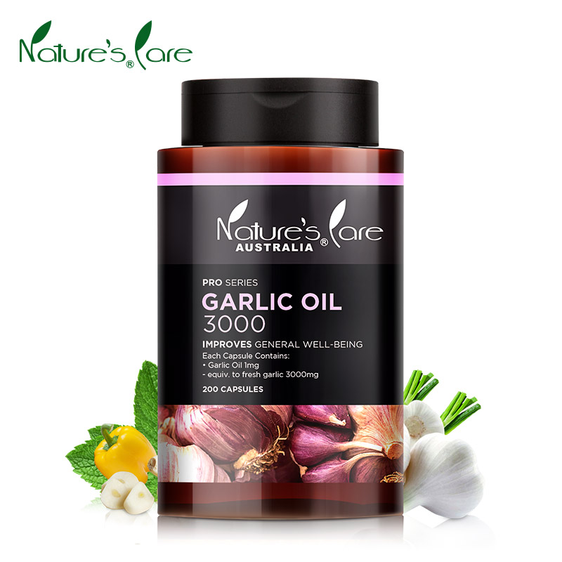 Nature 's care garlic extract 200 capsules