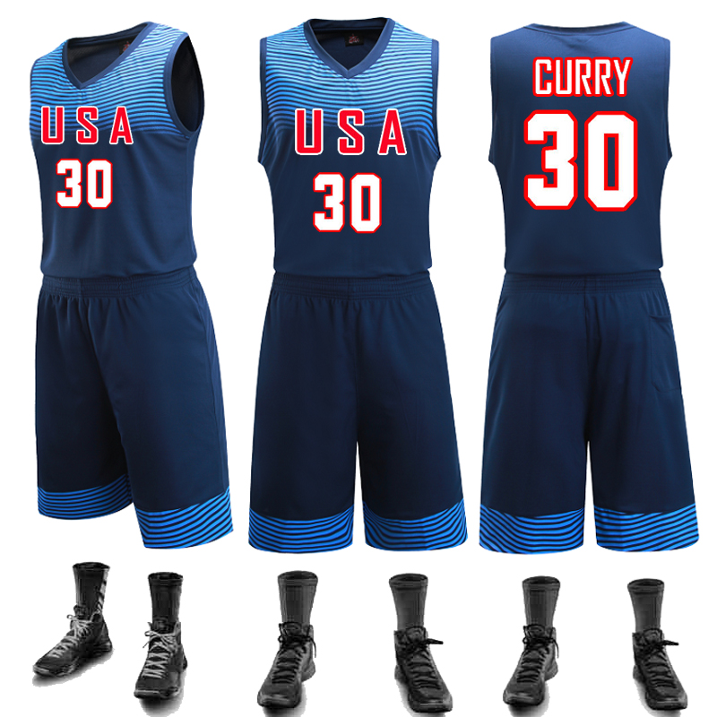 a9dd307c695 Buy New basketball uniforms basketball team usa basketball uniforms empty  plate diy custom jersey jersey training suit in Cheap Price on Alibaba.com