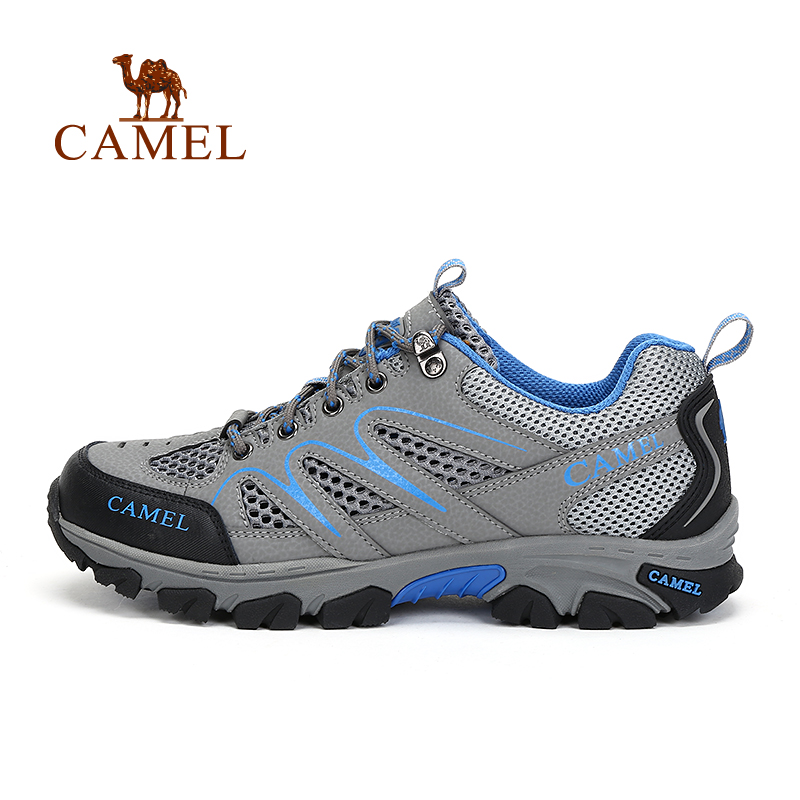 [New] camel outdoor lovers shoes 2016 fall breathable wear and comfortable hiking shoes hiking shoes for men and women