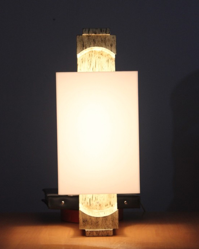New chinese wooden sheepskin wooden chandelier wooden wall lamp corridor wall lamp wall lamp hotel model room wooden wall sconce