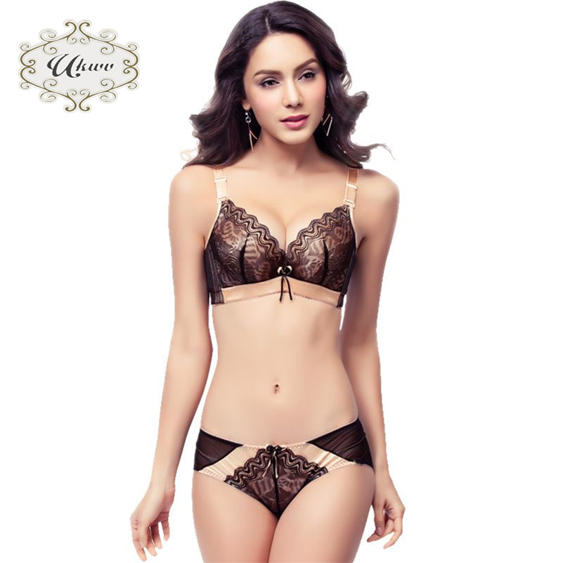 801a0b6db3 Get Quotations · New european style ukwv influx of youth gather close furu  lace sexy female underwear bra set
