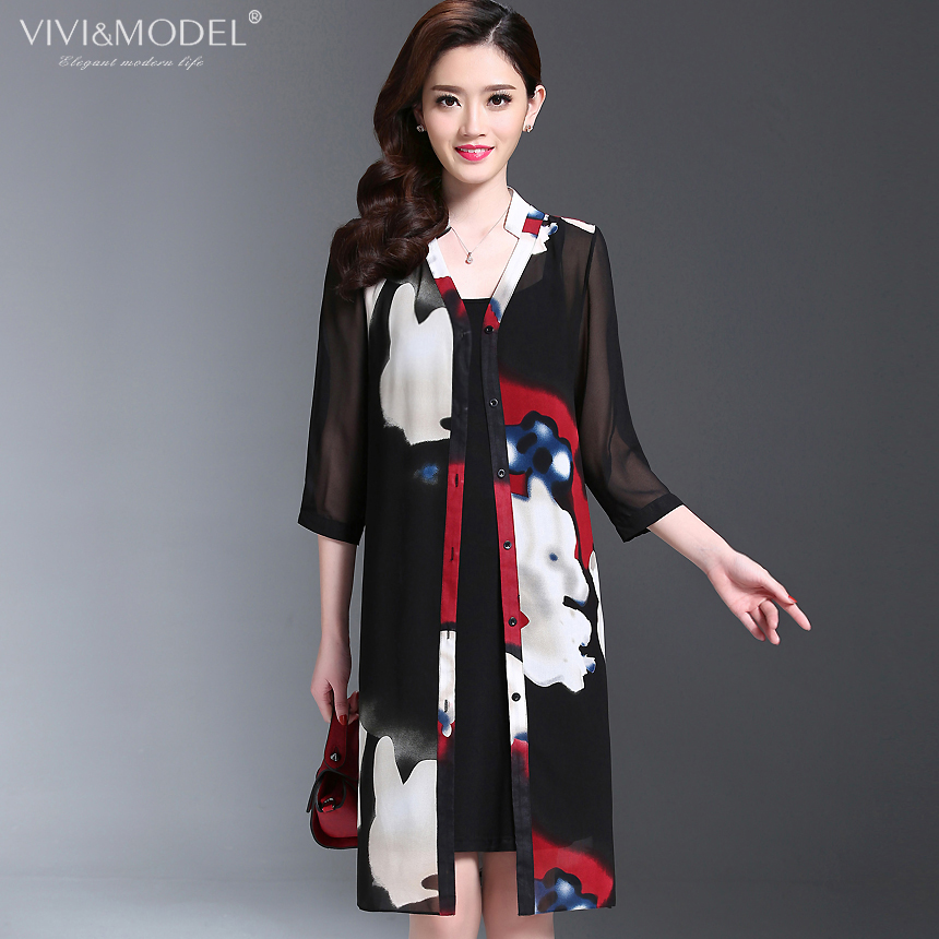 75cd9d7aced3 Get Quotations · New middle-aged women mother dress summer middle-aged  middle-aged women s summer