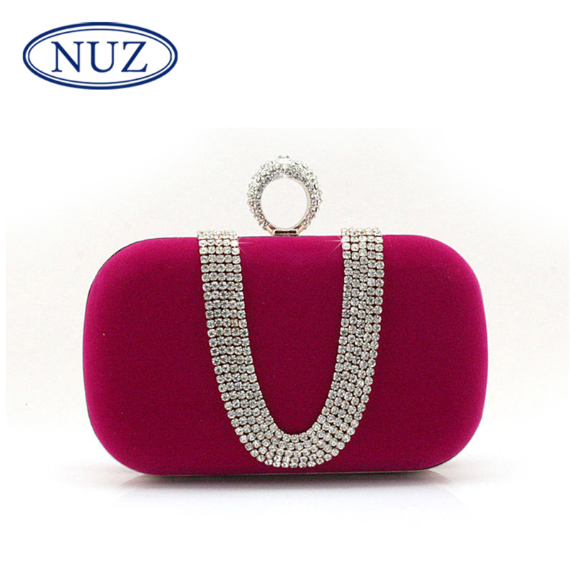 New mini NUZ2016 takou wild banquet bag fashion bag diamond ring bridal clutch bag influx of 5640