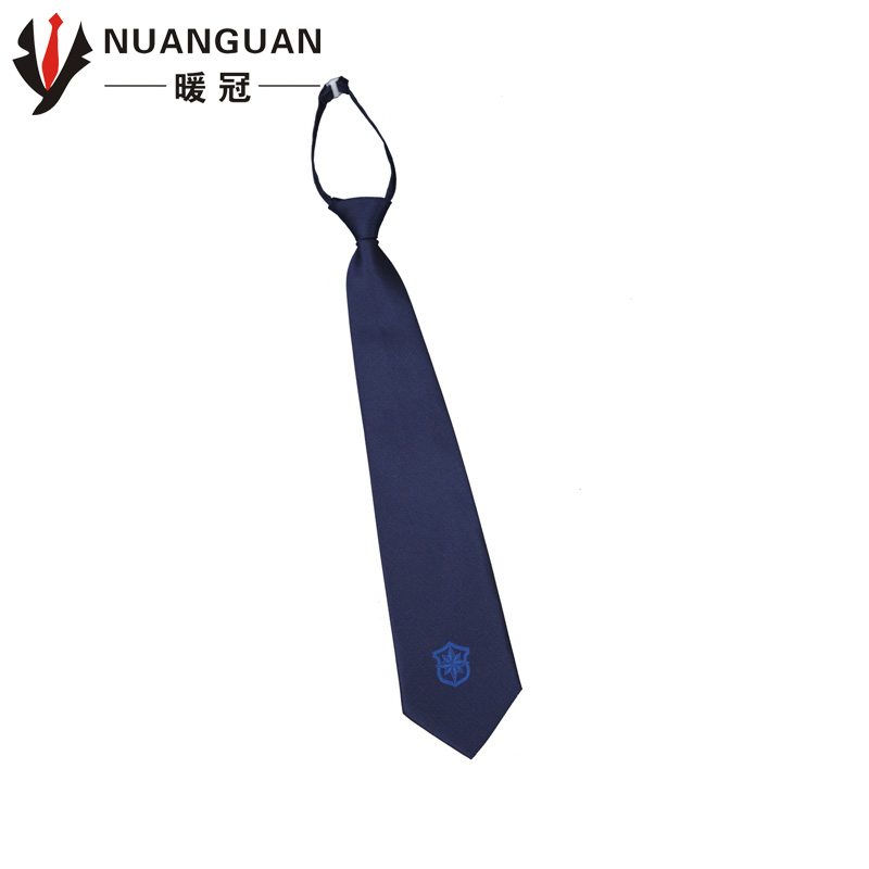 New models zipper security dark blue tie black tie security accessories new security uniforms tooling