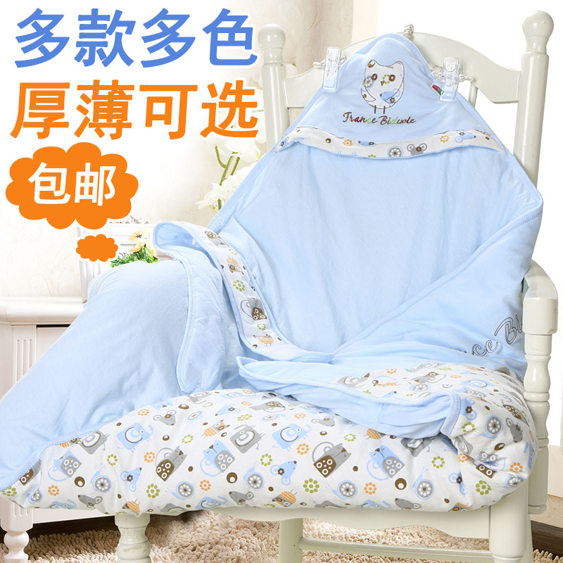 Newborn baby was coated cotton baby was spring fall and winter blankets quilts summer thicker section baby swaddle baojin supplies