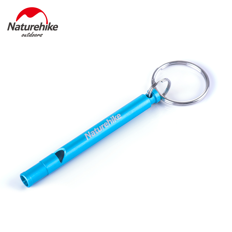 Nh outdoor emergency whistle whistle aluminum alloy survival whistle children's self rescue whistle whistle whistle outdoor survival equipment