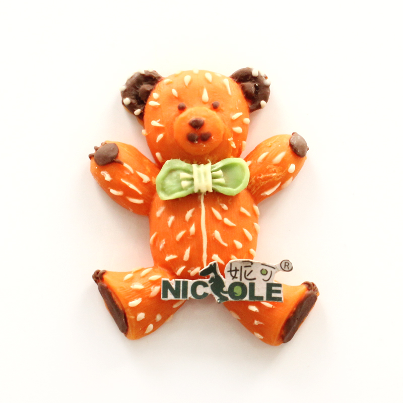 Nicole diy baking bear handmade chocolate fondant cake decorating mold silicone mold resin clay mold