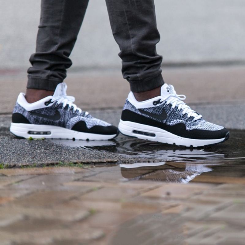 best cheap 7372a 6156c Buy Nike flyknit air max 1 ultra men woven cushion sports running shoes  843384-100 in Cheap Price on Alibaba.com