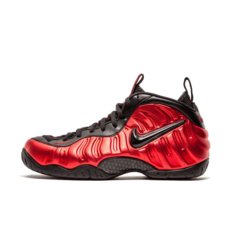 super popular 7e86a 3f298 Get Quotations · Nike foamposite pro khadavi red xuepao bubble jet black  and red basketball shoes men 624041-
