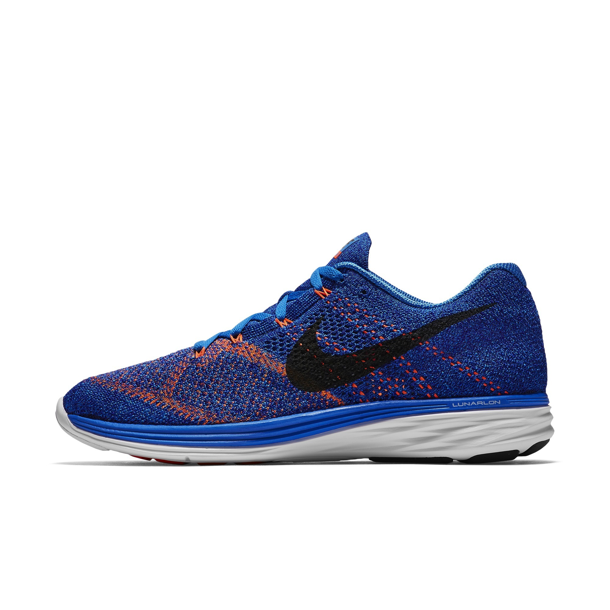 44e3df00a78ee Get Quotations · Nike men s nike flyknit lunar fly line woven LUNAR3 sports  shoes running shoes 698181-405