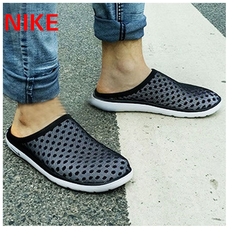 Nike nike men's 2016 summer new honeycomb nest woven sandals sport sandals slippers 441377-600