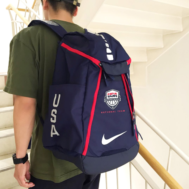 new product 1d4ff 418c4 Buy Nike max air team team usa basketball elite cushion backpack  BA5280-100-410 in Cheap Price on Alibaba.com