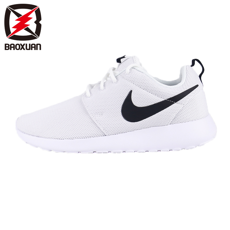 0fd669dd534e Get Quotations · Nike wmns roshe one woman black and white sports shoes  lightweight running shoes 844994-101