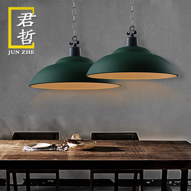 Nordic american country vintage chandelier loft industrial style wrought iron lamps restaurant lights cafe bar sets bedroom