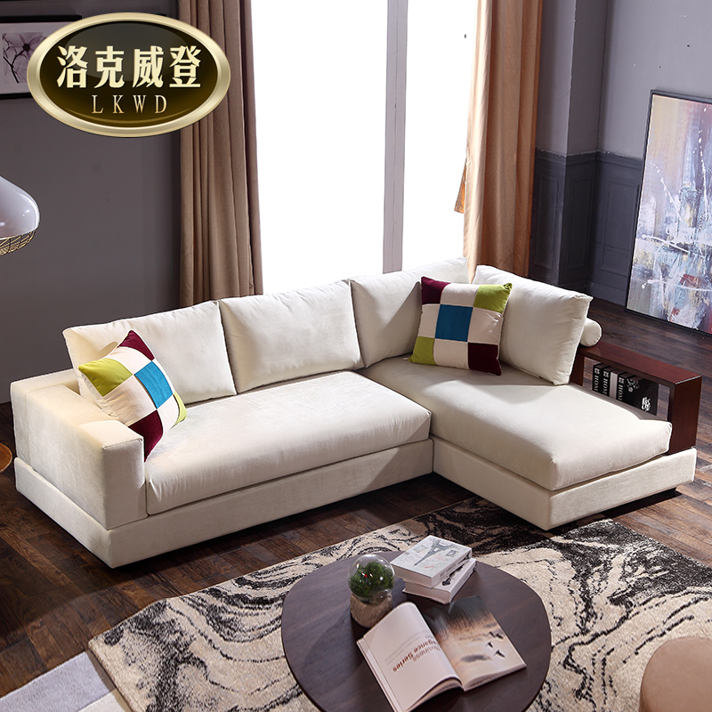 fe00f9042da3 Get Quotations · Nordic japanese multifunction wood sofa simple dual folding  sofa bed double bed fabric sofa bed